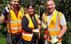 Helping to make a difference at Coppice Brook with Trent Rivers' Trust