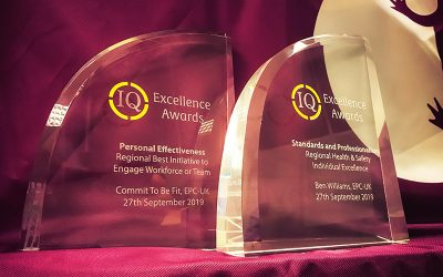 National triumphs for EPC-UK at the IQ Excellence Awards