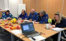 EPC-UK's training puts safer pyrotechnic processing on coastguards' horizons