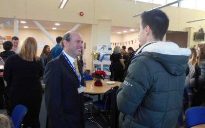 EPC-UK's Ian Hurst returns to college to inspire students