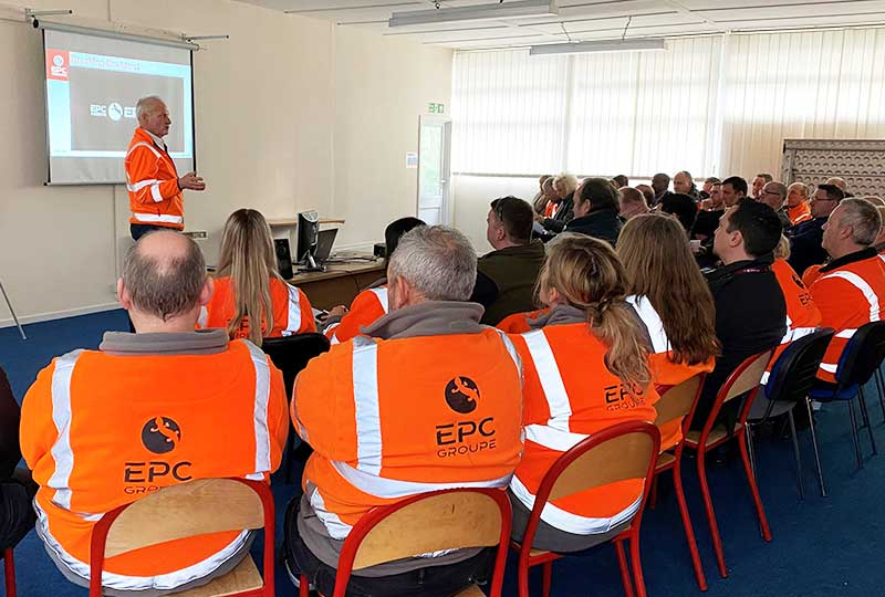 "EPC-UK promotes a safety-first mindset and empowerment, delivering a ""home safe"" focus"
