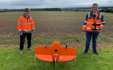 Sam and Liam are flying high after completing drone training