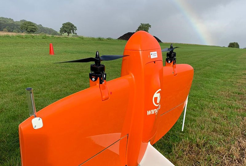 WingtraOne Training