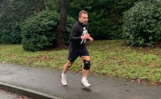 Ben goes the distance to raise funds in lockdown for Prostate Cancer UK
