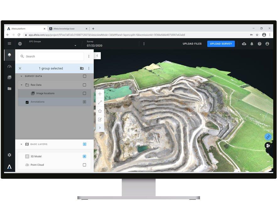 EPC Metrics drone survey