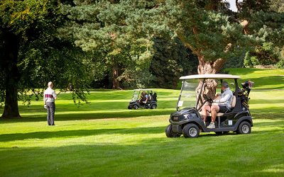 Getting back in the swing by safely welcoming the return of our charity golf day