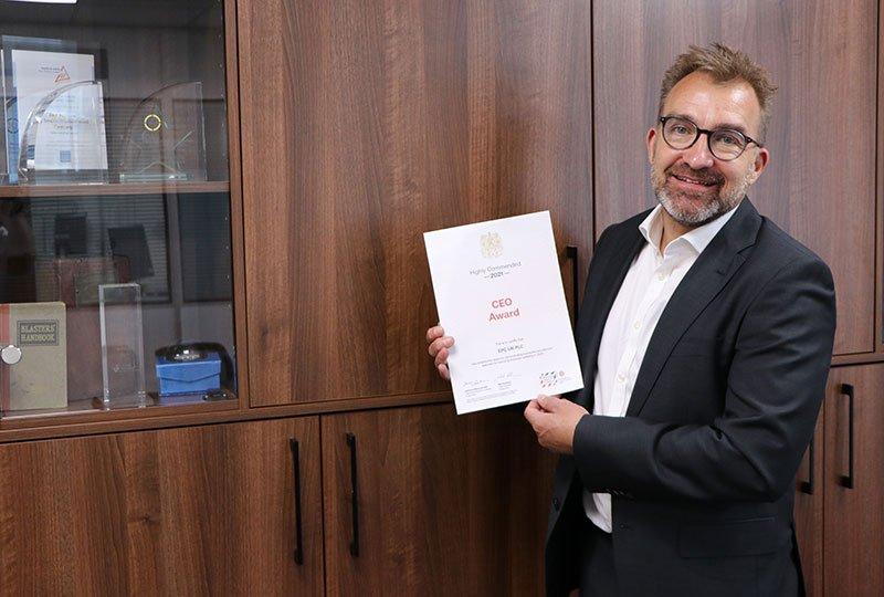Ben Williams British-Safety-Council-award