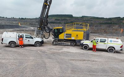 EPC-UK's partnership with Tarmac takes quarrying at Tunstead into the Digital Era